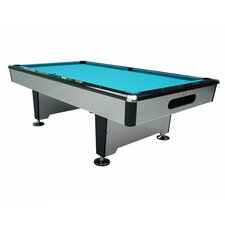 Silver Knight 7' Ball Return Pool Table