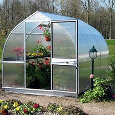 "Riga III 7'6"" H x 9'8"" W x 10'6"" D Polycarbonate Greenhouse"