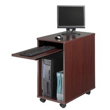 Deskside Mini Workstation Computer Desk