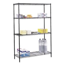 Wire Commercial 3 Shelf Shelving Unit