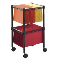 Wire Mobile File Cart (Foolscap)