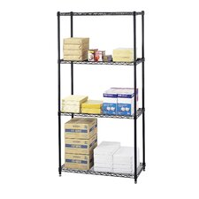 Commercial Shelving Wire in Black