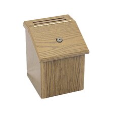 Suggestion Box in Medium Oak
