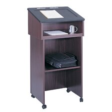 Stand - Up Lectern in Mahogany Set