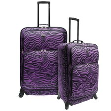 Fashion 2 Piece Spinner Luggage Set