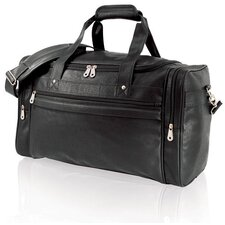 "<strong>U.S. Traveler</strong> 21"" Koskin Leather Carry-On Duffel"