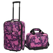<strong>U.S. Traveler</strong> Fashion 2 Piece Carry-On Luggage Set
