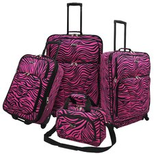 Fashion 4 Piece Spinner Luggage Set