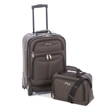 Fashion 2 Piece Carry-On Luggage Set