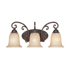 <strong>Designers Fountain</strong> Amherst 3 Light Vanity Light