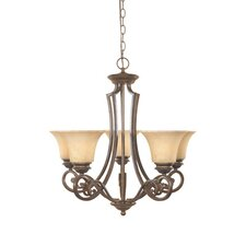 Mendocino 5 Light Chandelier