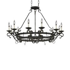 Messina 12 Light Chandelier Pot Rack