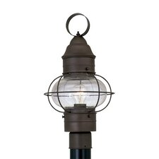 <strong>Designers Fountain</strong> Nantucket 1 Light Post Lantern