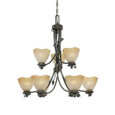 Timberline 9 Light Chandelier