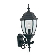 <strong>Designers Fountain</strong> Tiverton 1 Light Cast Outdoor Wall Lantern