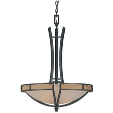 <strong>Designers Fountain</strong> Majorca 3 Light Inverted Pendant