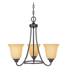<strong>Designers Fountain</strong> Madison 3 Light Chandelier