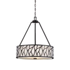 <strong>Designers Fountain</strong> Modesto 3 Light Drum Pendant
