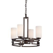 Del Ray 4 Light Chandelier