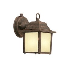 <strong>Designers Fountain</strong> Builder 1 Light Outdoor Wall Lantern