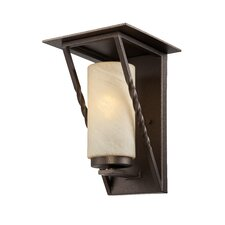 <strong>Designers Fountain</strong> Parkview 1 Light Outdoor Wall Lantern
