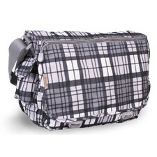 Terry Campus Tartan Messenger Bag
