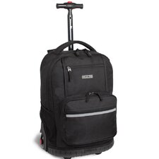 <strong>J World</strong> Sunset Multi Pocket Rolling Backpack