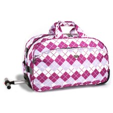 "Christy 20"" Carry-On Rolling Duffel"