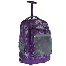 Sundance Rolling Backpack with Laptop Sleeve