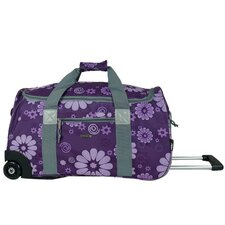 "<strong>J World</strong> 22"" 2-Wheeled Carry-On Duffel"