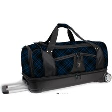 "<strong>J World</strong> 28"" Fairman 2-Wheeled Drop Bottom Travel Duffel"
