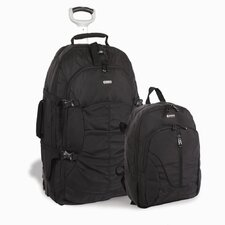 Hudson Rolling Backpack with Detachable Daypack