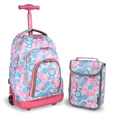 Lollipop 2 Piece Kids Rolling Luggage Set