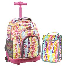 Lollipop 2 Piece Kid's Rolling Luggage Set