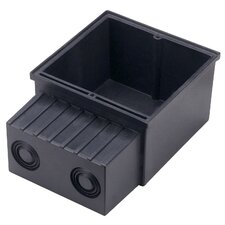 Installation Box for Flat Frame in Black