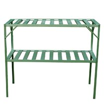Free Standing Two Level Staging Shelving