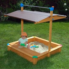 Maxi 4' Rectangular Sandbox with Cover