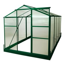 "BIO-Star 77.04"" H x 75"" W x 96"" D Polycarbonate Greenhouse"