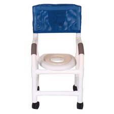 Standard Deluxe Small Adult Shower Chair with Optional Accessories