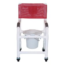Standard Deluxe Shower Chair with Tilt Seat and Optional Accessories