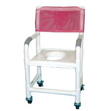 Standard Deluxe Shower Chair with Clamp On Seat and Optional Accessories