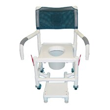 Standard Deluxe Shower Chair with Clamp On Seat