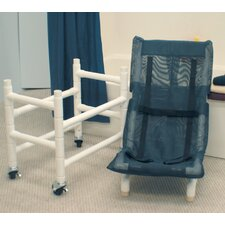 Dual Optional Base and Casters For Articulating Bath Chair