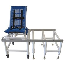 Articulating Bath Chair/Transfer System and Optional Accessories