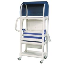 Hydration Cart with 48 Quart Ice Chest and Extra Top Shelf