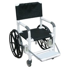 Echo Beach/Pool Shower/Commode Wheelchair with Sling Seat