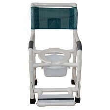 Standard Deluxe Shower Chair with Folding Footrest