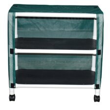 Echo Mid Size Linen Cart with Cover