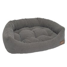 Tweed Printed Microfiber Napper Bed