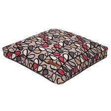 Vines Flocked Rectangular Pillow Bed